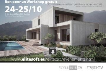 Bon pour un Workshop gratuit : Construire sa maison passive à moindre coût