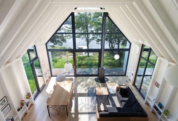 Une fenêtre surle Lac pour restez connecter avec la nature.