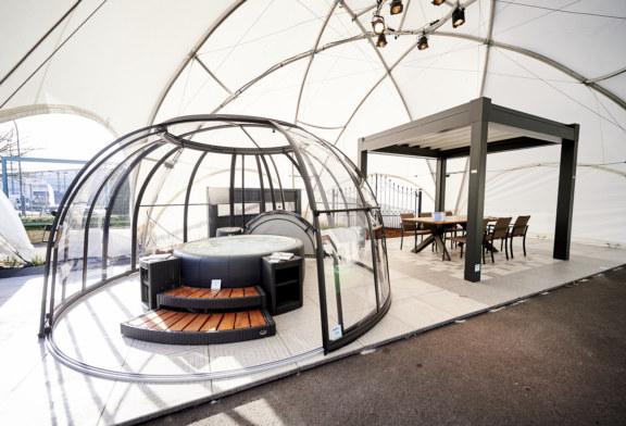 À découvrir dans la Garden Room : l'intérieur et l'extérieur sont liés l'un à l'autre